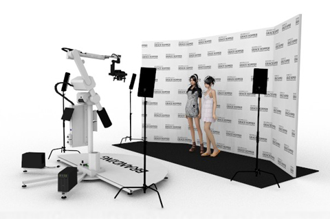 GlamBot Video Booth