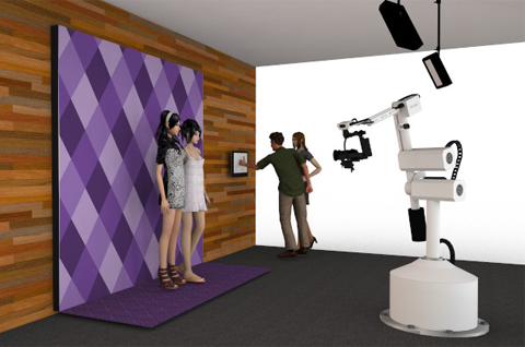 Robot Installation Video Booths